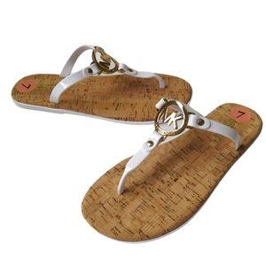 Michael Kors Jelly Cork Thong Sandals